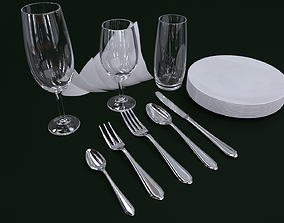 Cutlery set1 3D