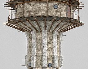 War Tower 3D model