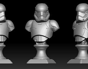 1stOrder StormTrooper Bust Fan Art 3D print model