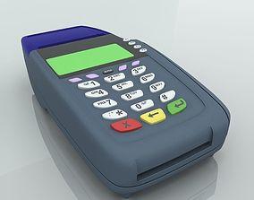 Credit Card Swipe Machine 3D model