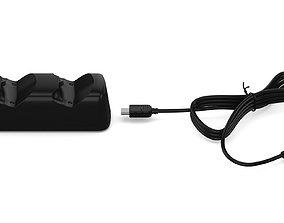 3D model PS4 Dual Controller Charging Dock V1