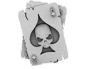 3D printable model Skull cards