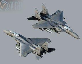 3D model eagle-f15