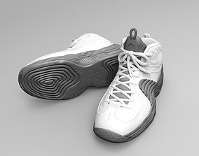 The Nike Air Penny 2 Basketball Shoes 3D printable model