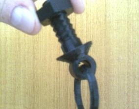 Drawer handle 3D print model