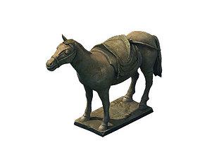 Game Model - Terracotta Warriors and Horses 3D