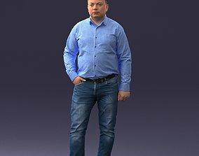 man in jeans 0403 3D print model