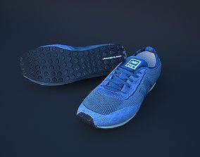 Sneakers 3D asset rigged