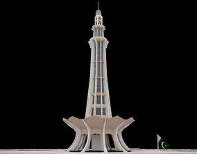 Minar-e-Pakistan 3D asset