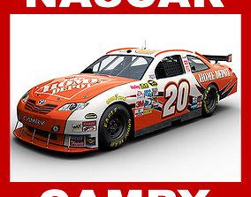 Nascar 2009 Car - Joey Logano Toyota Camry 20 3D model