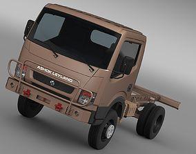 3D model Ashok Leyland Garuda Chassi 2015
