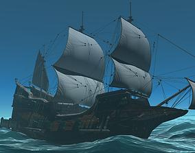 Detailed Ship 3D model