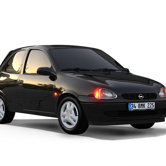Opel Corsa B Render