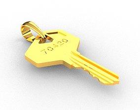 Pendant Key 3D printable model