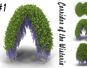 Wisteria Corridor 1 3D model