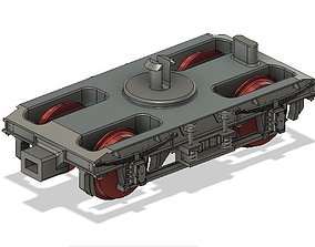 OO Hornby MK1 Coach Bogie NEM Socket to 3D print model 3