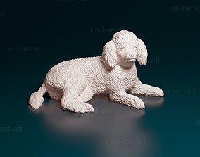 3D print model miniatures Toy poodle