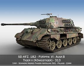 Panzerkampfwagen VI - Ausf B - Tiger II - 313 3D