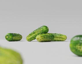 3D model Cucumber 001