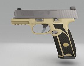 3D model Pistol FN 509