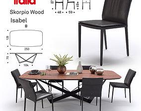 3D Scorpio Wood Cattelan Italia