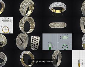 3D model 2 Rings Allure