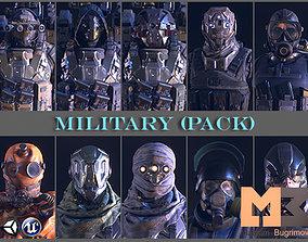 3D model PBR Military Pack