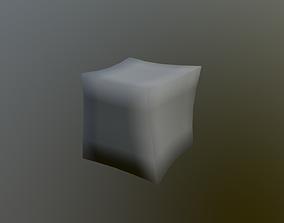 3D asset Just deformed cube