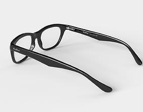 3D asset PBR Low-poly Glasses