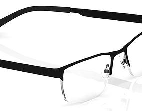 spec Eyeglasses for Men and Women 3D print model