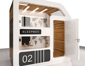 3D model Sleepbox