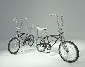 Retro 80s Schwinn bicycle Stranger Things 3D