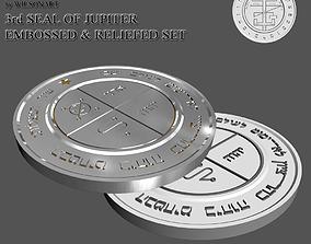 3rd Seal of Jupiter 3D print model
