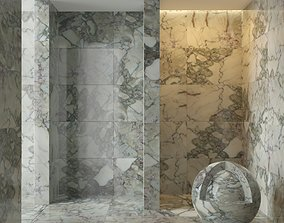 3D Marble wall 146