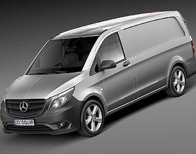 Mercedes-Benz Vito PanelVan 2015 3D model