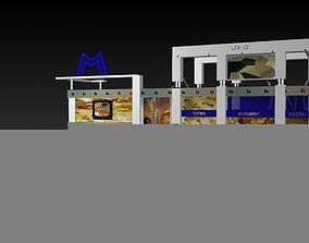 3D model Iron Expo 01