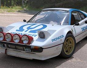 3D model Ferrari 308 GTB Group 4 Rally