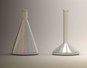 Laboratory Flask -Test Tube 3D model