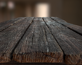 3D asset Alchemy Wood Table
