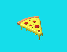 Pizza Slice for 3D Print