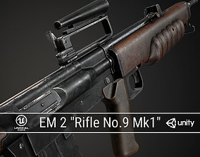 PBR British EM 2 3D asset