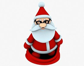 gnome New cool Santa Claus for beautiful 3d print 05