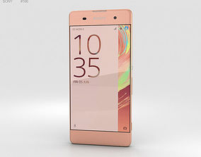 Sony Xperia XA Rose Gold 3D model