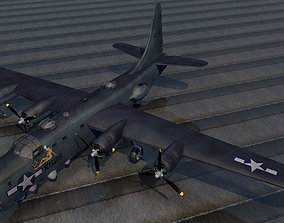 3D model bomber Consolidated PB4Y-2 Privateer
