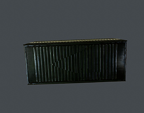 cargo container 3D asset
