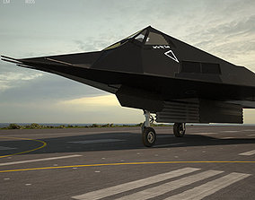 3D Lockheed F-117 Nighthawk