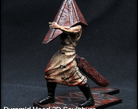 Pyramid Head Silent Hill Character 3D printable model