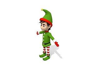 Young Elf 3D model