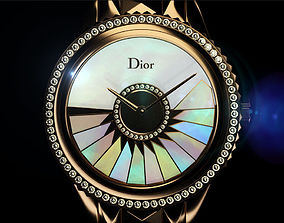 Dior Timepieces Grand Bal collection 3D timepieces