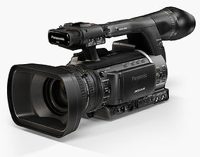 3D model Panasonic AG-AC160A AVCCAM Series